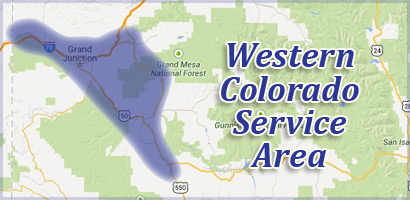 Western Colorado Plumbing Service Areas